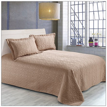 Shanghai China bedspread bedding sets ruffle quilt
