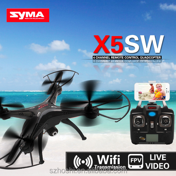 SYMA X5SW / X5SW-1 WIFI RC Drone fpv Quadcopter with Camera Real Time RC Helicopter