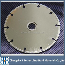 Electroplated Diamond Saw Blades Wet/Dry Circle Cutting Disc