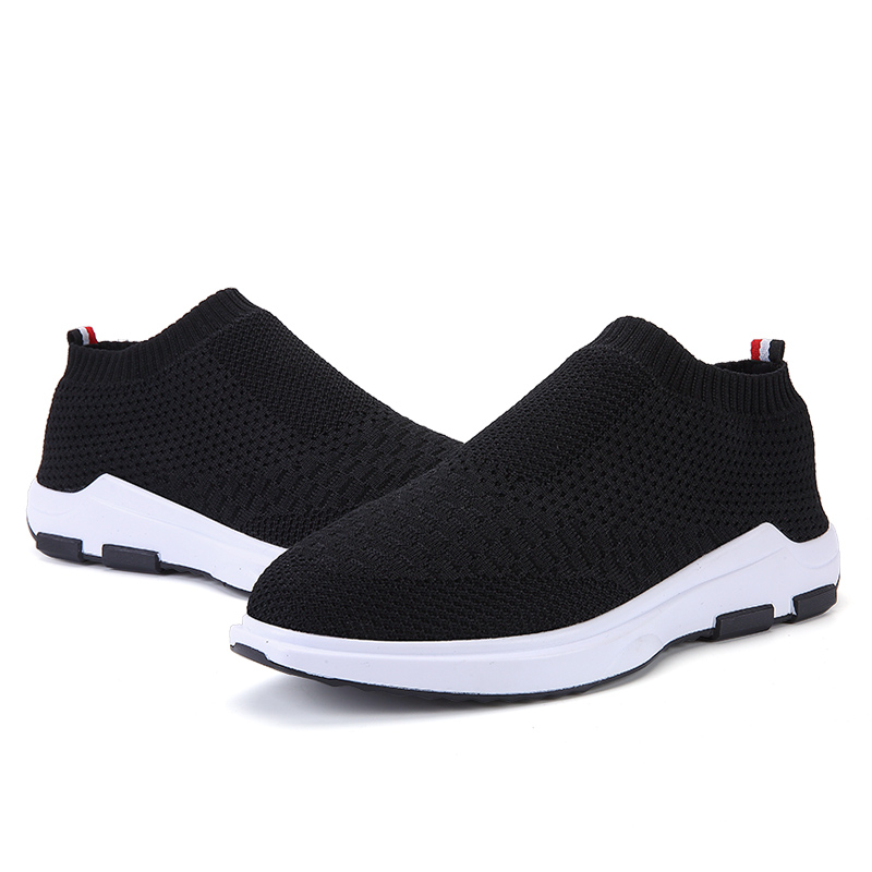 stylish street flyknit casual men shoes with mid ankle,spring autumn distinctive red men casual shoes