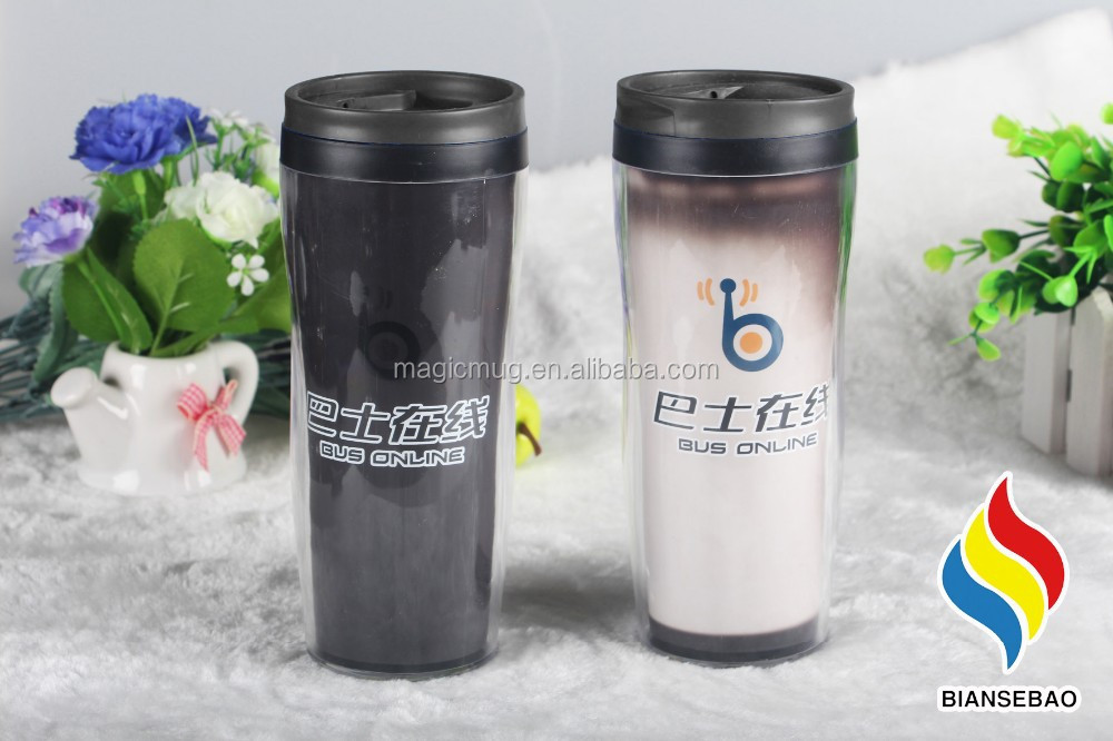 Hot Drink Tumbler Color Changing Double Wall Item