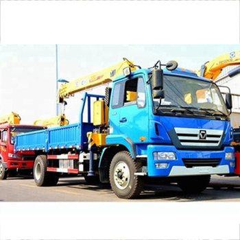 Truck crane SQ6.3SK3Q with 6.3tons Max lifting capacity with low price