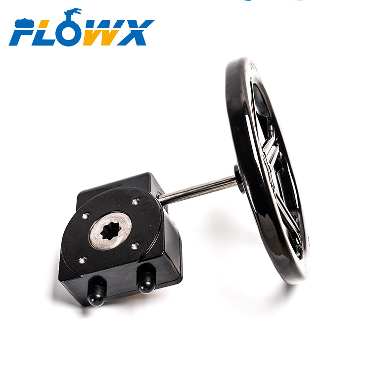 "2"" 4"" 10"" 6"" Manual hand wheel Worm Gear box for butterfly Valve"