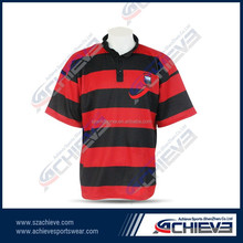 2015 Custom Made The Newest Men High Quality But Cheap Sublimated Rugby Jersey With Custom Logos Welcomed At Cheap Price