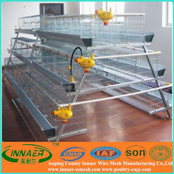 Easy installation chicken breeding cages for hen
