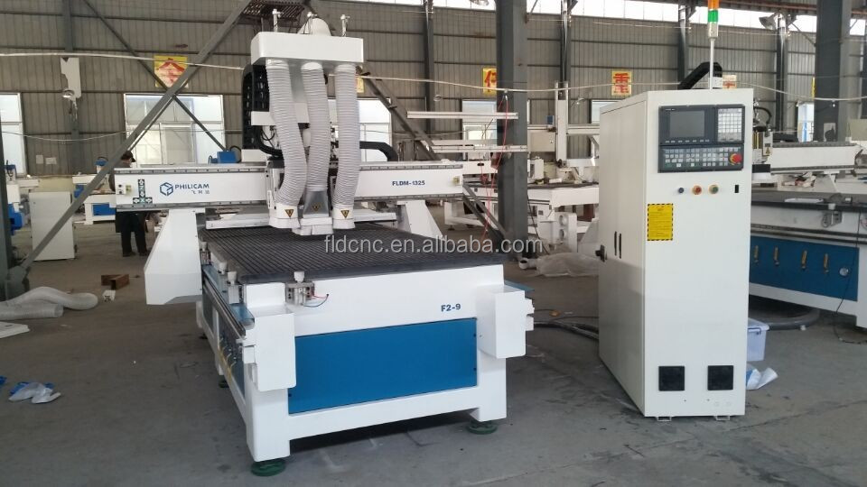 atc cnc milling machine wood kitchen cabinet making machine