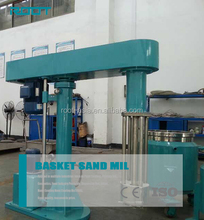 Vertical type basket mill pigment grinding machine