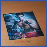 High Quality 200gsm Gloss Art Paper A3 Size Free Poster Print