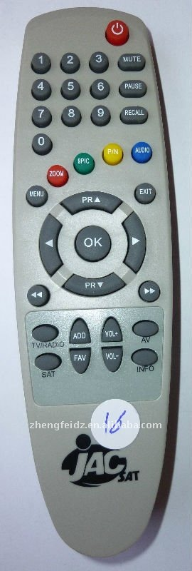 remote control for tv JAC SAT