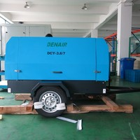 75kw portable screw compressor 12 bar air compressor