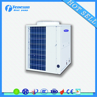 EVI low temperature air to water heat pump equipped with Danfoss brand expansion valve