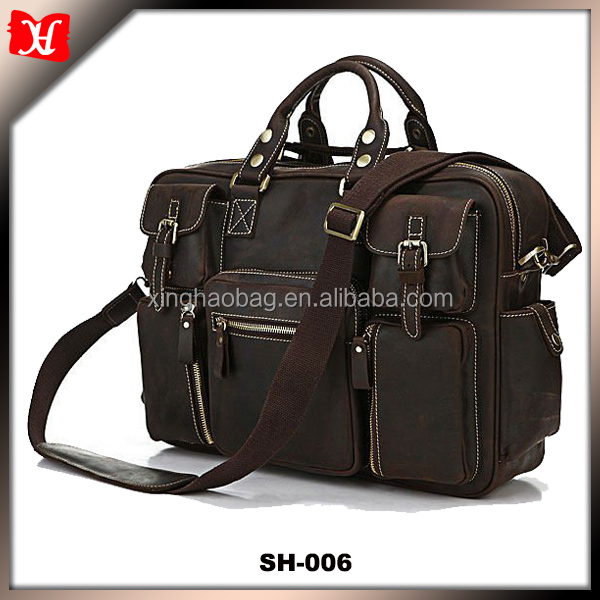Catcher European and American retro Mad Men horsehide fashion pure leather shoulder bag