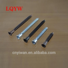 Customized aluminum round head self drilling screw for wood furniture