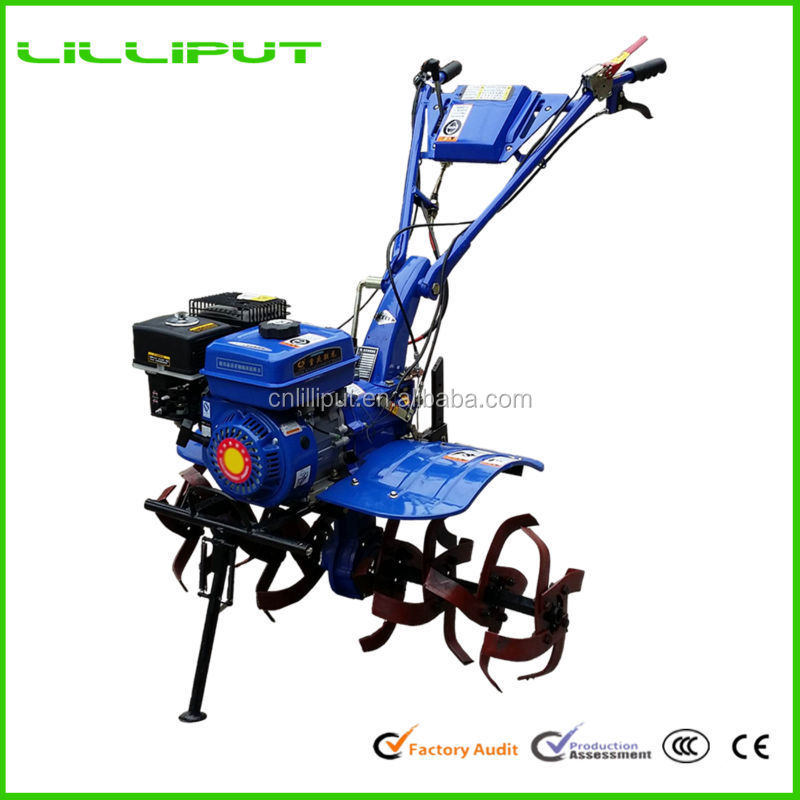 Price Of Cheap Gear Driven Manual 10Hp Hand Tiller For Greenhouse Tillage