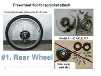 HD Axle Kit For Motorized Bike