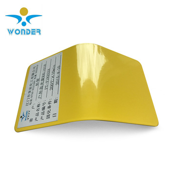 Made in China yellow carckle crocodile tone blue powder coating
