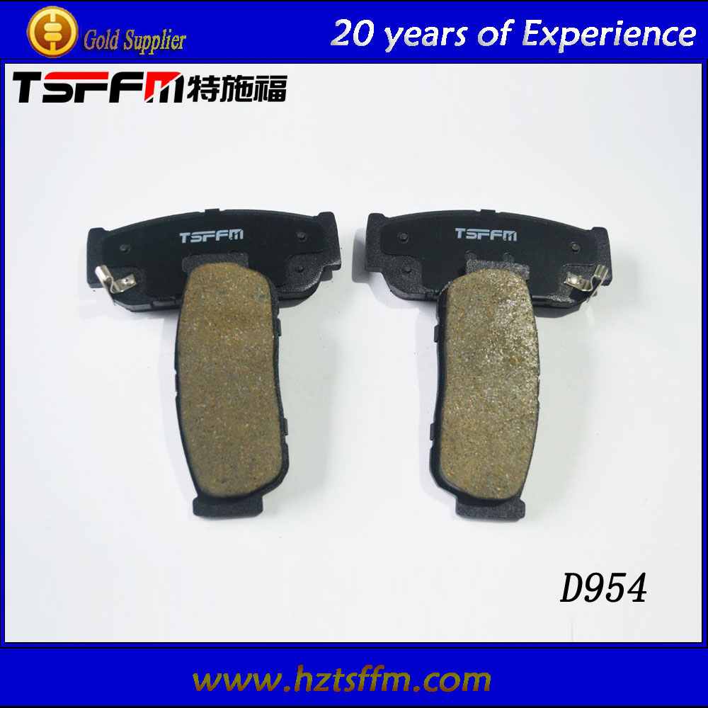 Japanese car brake parts set break pad manufacturer