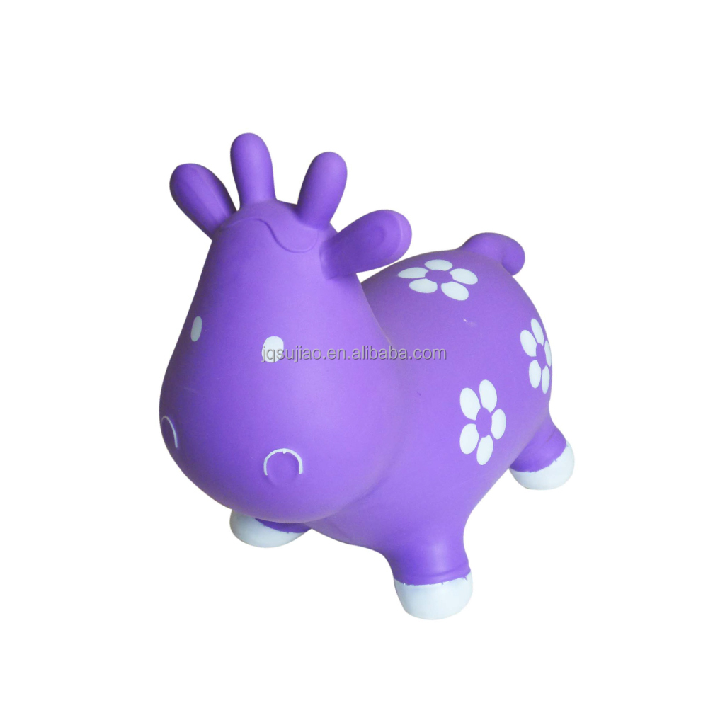 Jumping cow/stock inflatable animal/ hopping animal