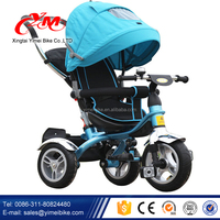 Beautiful Baby walker Trike,Kids Tricycle Two Seat,strong Tricycles for Children with trailer
