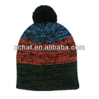 Hot sale Decoration knitted cap custom beanie hat