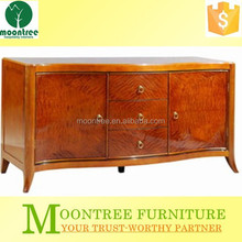 MCB-1104 Top Quality Mahogany Wooden Buffet Cabinet