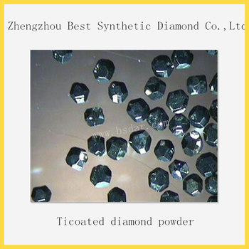 Cheapest price high quality Ti /Ni/Cu coated synthetic diamond powder