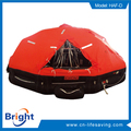 solas approved davit-launched inflatable life raft