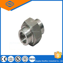 20% discounted Forged Carbon Steel Pipe Fittings A105 Union/galvanized threaded forged union