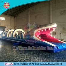 Giant Shark Slip and Slide/ adult size inflatable water slide