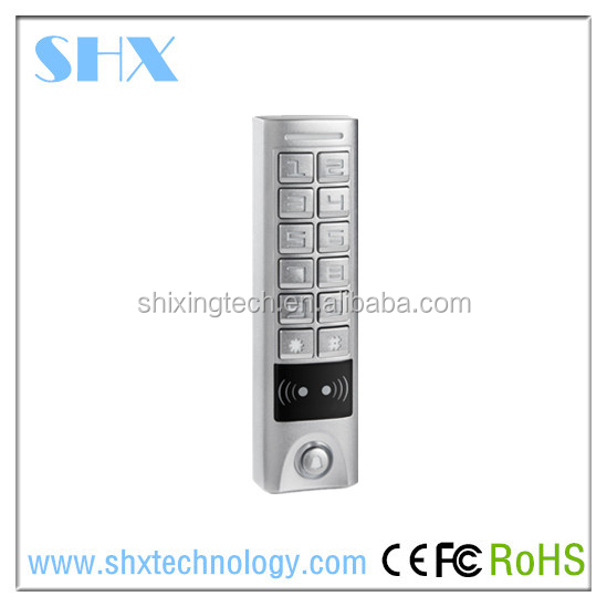 IP65 Waterproof standalone access control/smart RFID card door access control system
