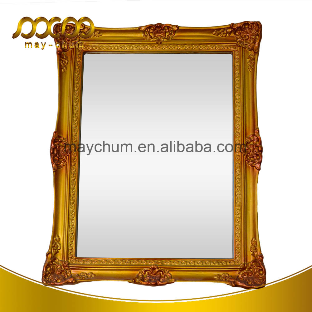 2016 Cheap Price Simple Wall Decorative Glass Framed Wall Mirror