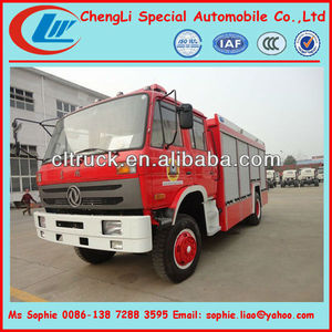 Dongfeng 4x4 water and foam Fire Truck, Fire Fighting Truck