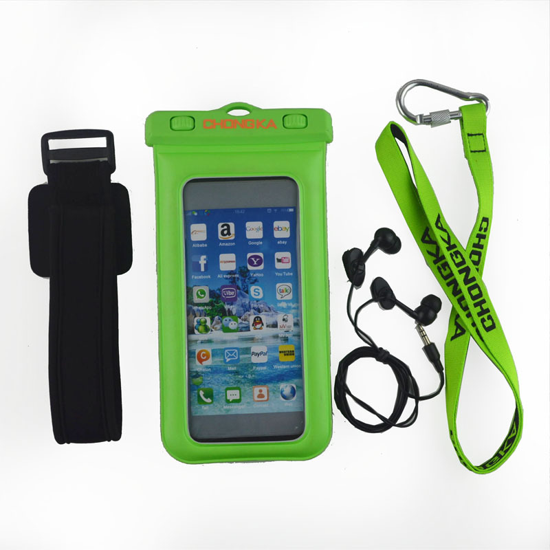 Wholesale plastic mobile phone pvc waterproof bag