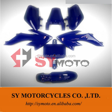 CRF50 blue Pitbike plastics Kit motorcycles fairing body parts