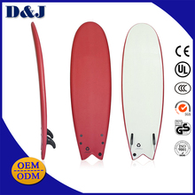 China Factory EPS Foam Fiberglass Resin HDPE bottom IXPE Face SUP Paddle Surfboard Softboard