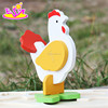 2017 New product funny 3d chicken children wooden puzzles of animals W14G044