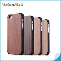High-end OEM Blank Wood Case For iPhone 6 Genuine Wood Phone Case