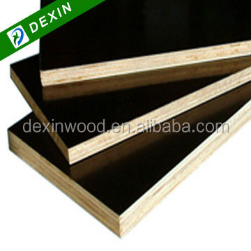 1220mmx2440mm or 1250mmx2500mm Construction 16mm Black Film Faced Plywood