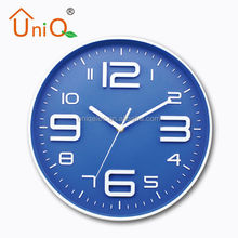 Simple Blue digital led wall clock