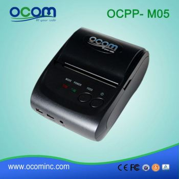OCPP-M05 Windows Android or IOS supported 58mm Mini Android Mobile Portable Bluetooth Printer
