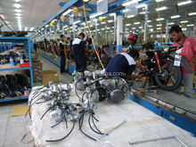 Mforce (Malysia)motorcycle assembly line