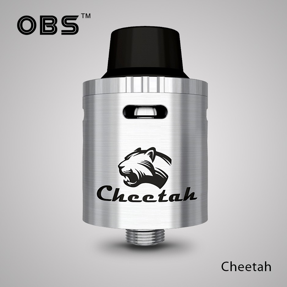 OBStech New Coming Top Airflow RDA Tank Atomizer OBS Cheetah RDA With Factory Price