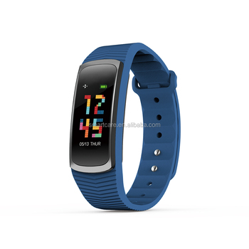 2018 Bluetooth Smart bracelet activity tracker with ultra low power cunsume, IPS colorful Full Touch Screen