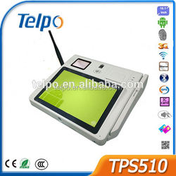 design pos system android 4.2 pos keyboard with smart card reader Telpo TPS510