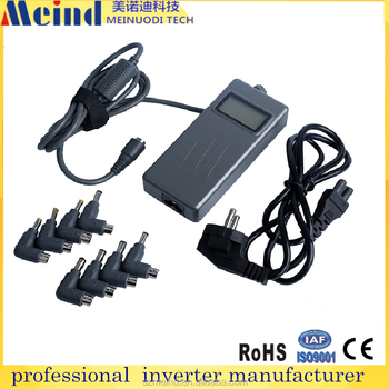 90W universal laptop Adapter or Laptop with LCD dislay 8 connectors