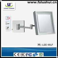 square wall mount best vanity mirror with lights