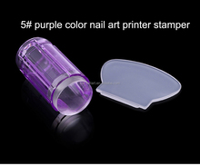 trade assurance 2016 new arrival hot DIY jelly transparent nail art printer stamper tool