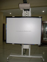 85inch infrared finger touch interactive electronic board, interactive white board for classroom, school, conference