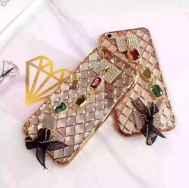fancy rhinestone mobile phone case,for iphone 7 case tpu,for iphone 7 phone case