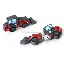 custom wheel loader usb flash drive
